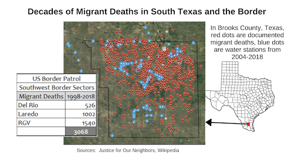 Migrant Deaths in the Texas Border Region