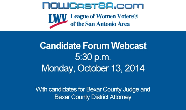Webcast League Of Women Voters Candidate Forum At
