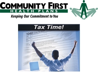 Comunity First Health Plans Tax Time