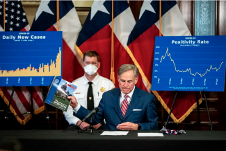 Texas Governor Greg Abbott announces new COVID-19 directives